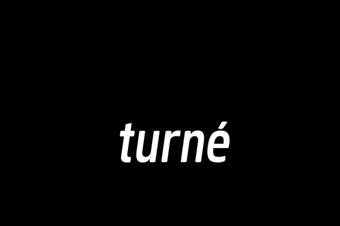 Ordbild med svarta bubblor och texten På Turné