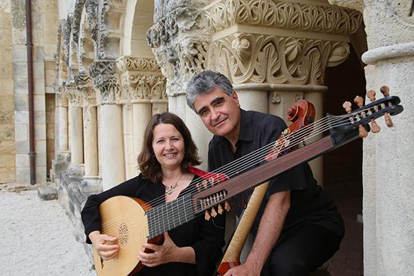Bild på musikduon Farangi